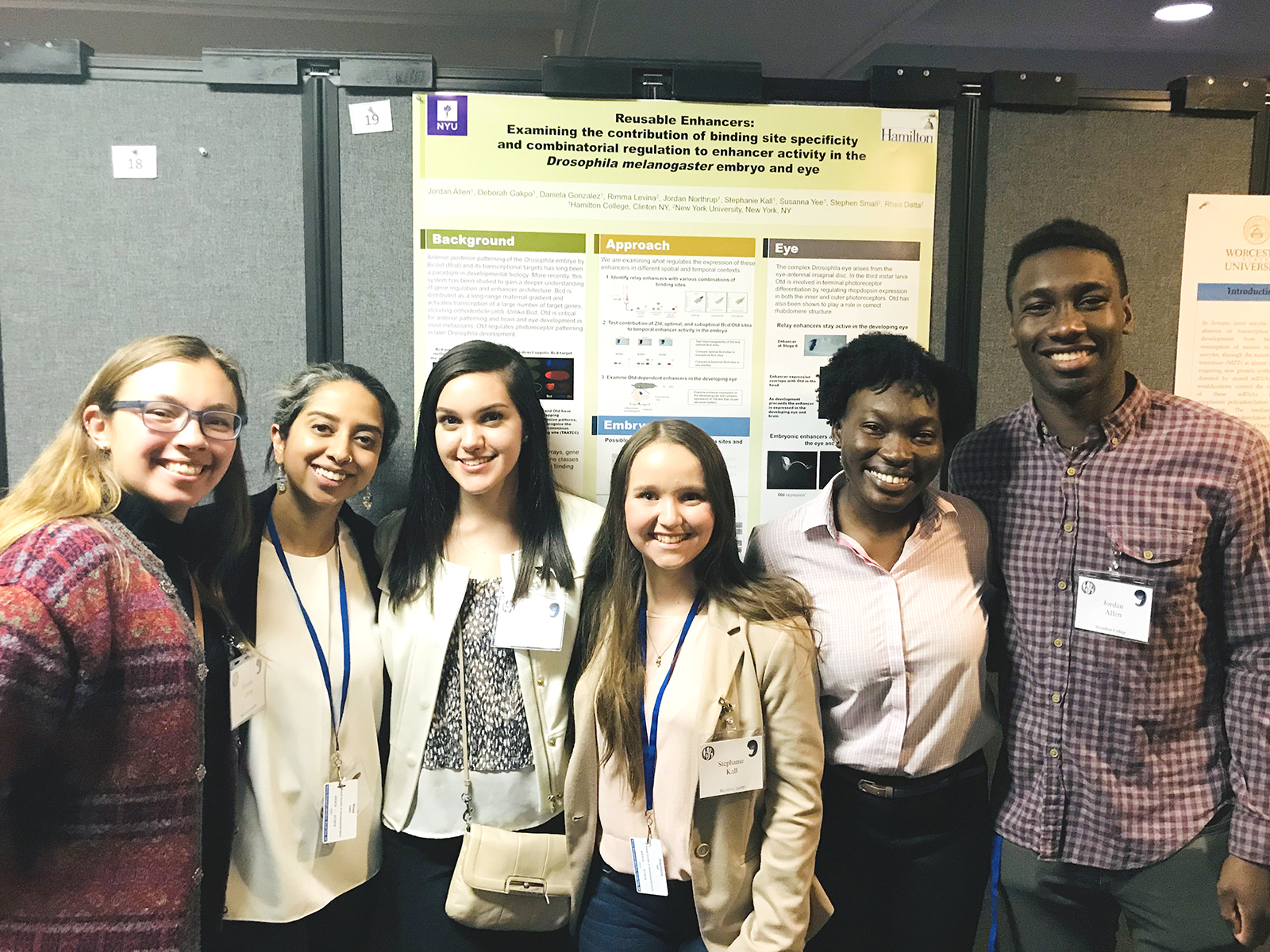 Datta, Students Present Drosophila Research - News - Hamilton College