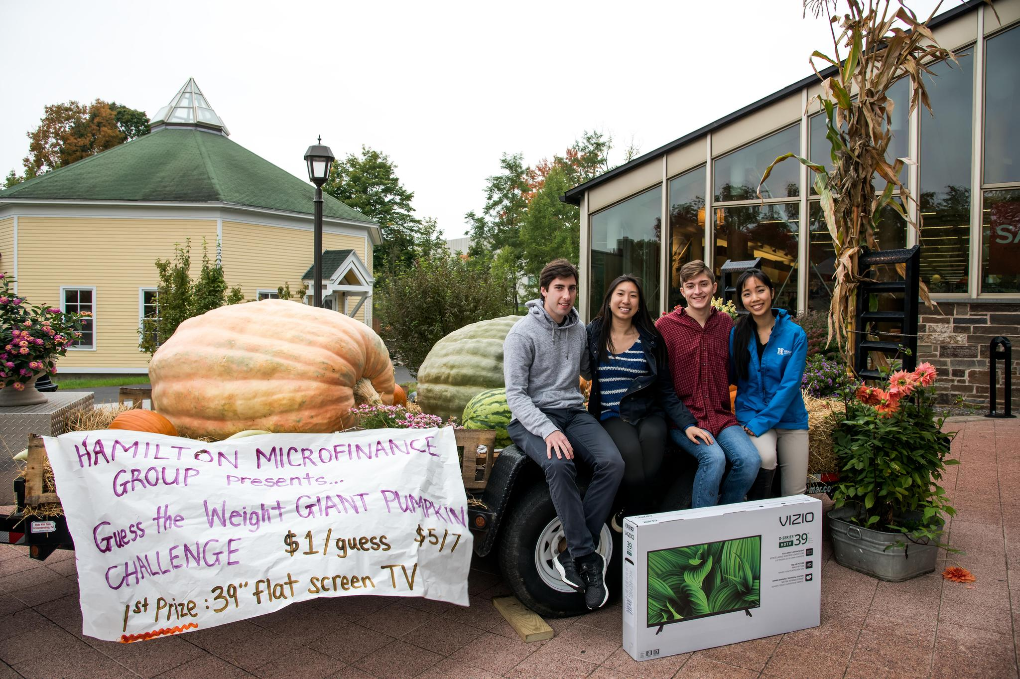 Microfinance Giant Pumpkin Fundraiser