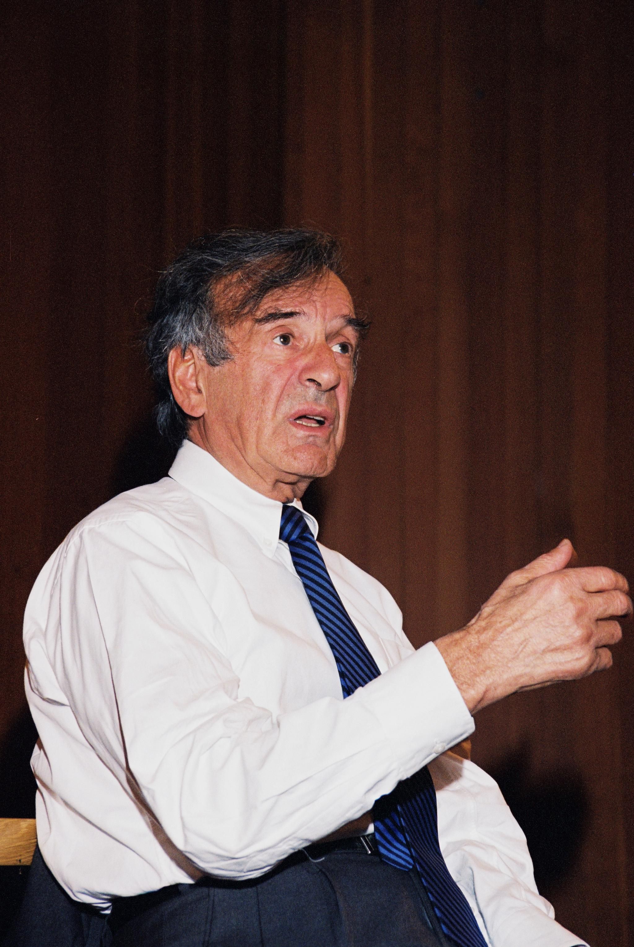 elie wisel This man, of course, was elie wiesel, who died on saturday, july 2 during the  course of his life, he won the nobel peace prize and wrote,.