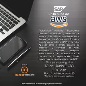 SAP en la nube de AWS 12 de Junio 2018