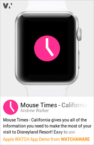 Mouse Times - California Apple Watch Demo