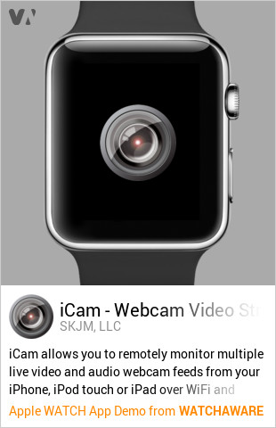 iCam by SKJM, LLC Watch App Embed Generator - WatchAware