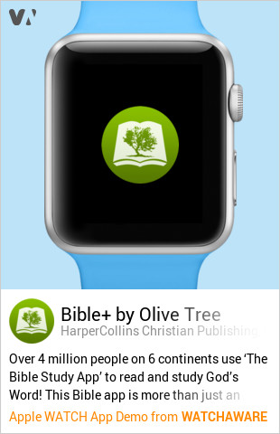 Bible by Olive Tree by HarperCollins Christian Publishing