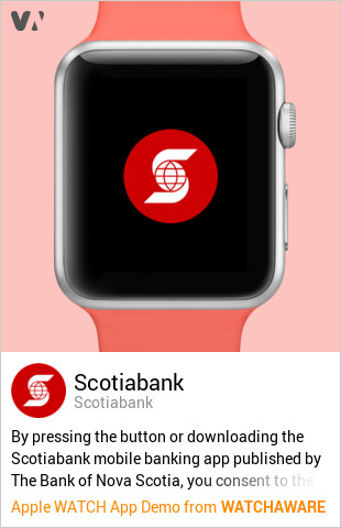 Scotiabank by Scotiabank Watch App Embed Generator - WatchAware