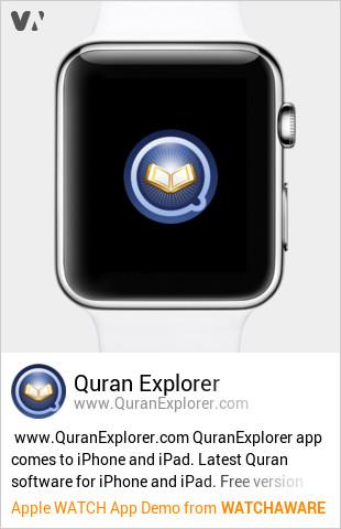 Quran Explorer by Noble Education Foundation, Inc  Watch App