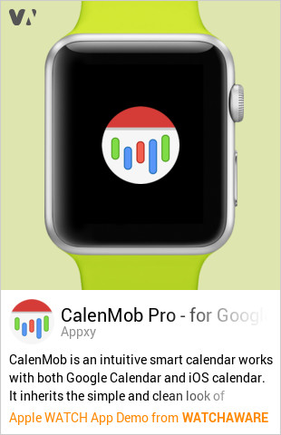 Tiny Calendar Pro by Fengge Watch App Embed Generator