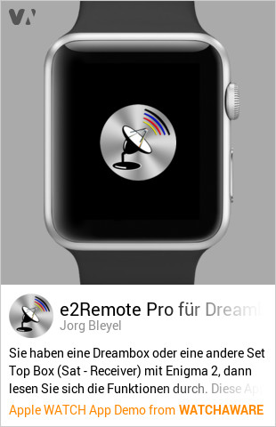 e2Remote Pro by Jorg Bleyel Watch App Embed Generator - WatchAware