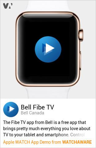 Bell Fibe TV by Bell Canada Watch App Embed Generator
