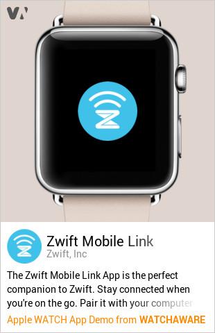 Zwift Companion by Zwift, Inc Watch App Embed Generator