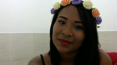 Live Webcam chat with Flor Negra