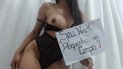 Live Webcam chat with SANTINHA