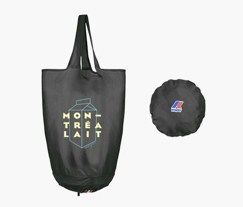 Le sac Montréalait par K-Way – Noir