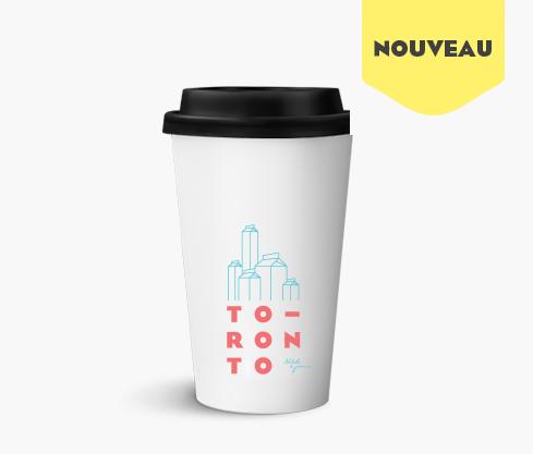 La tasse de voyage Toronto