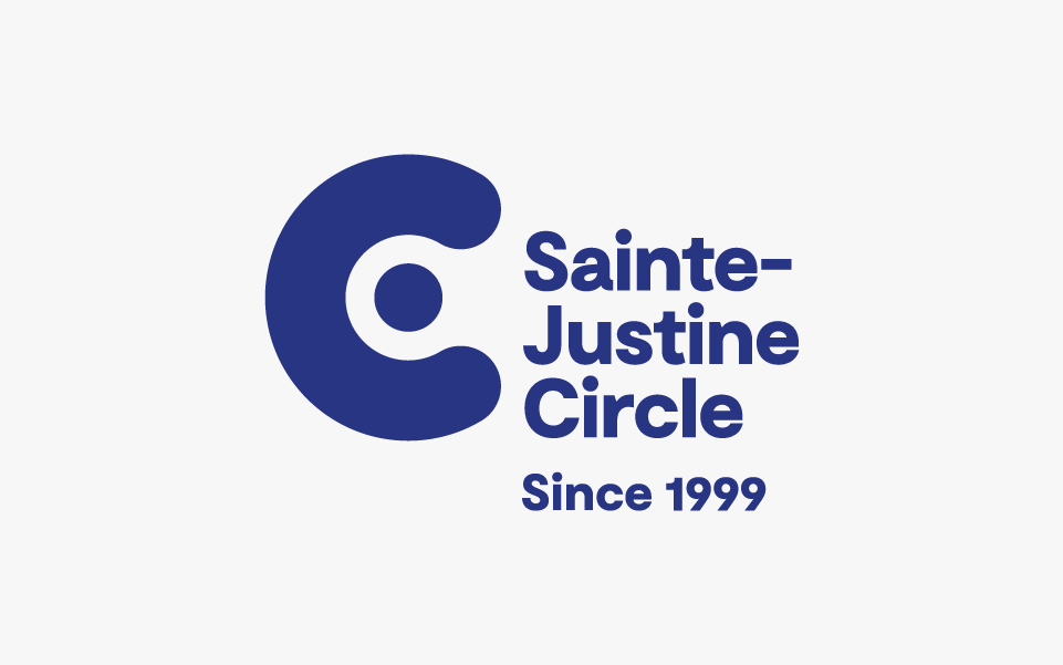 Cercle De Sainte Justine Circle Logo