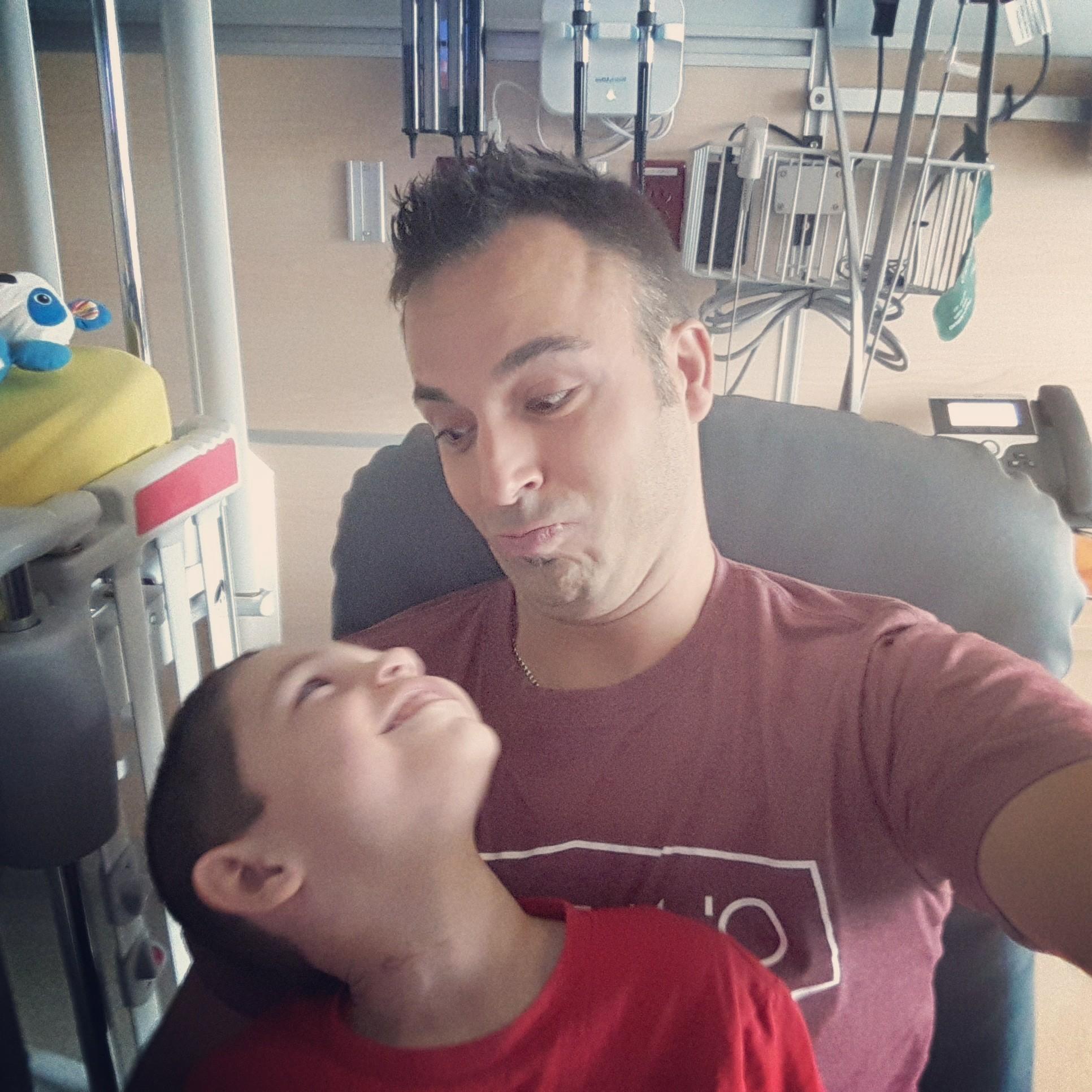 Selfie Papa Eli Noam