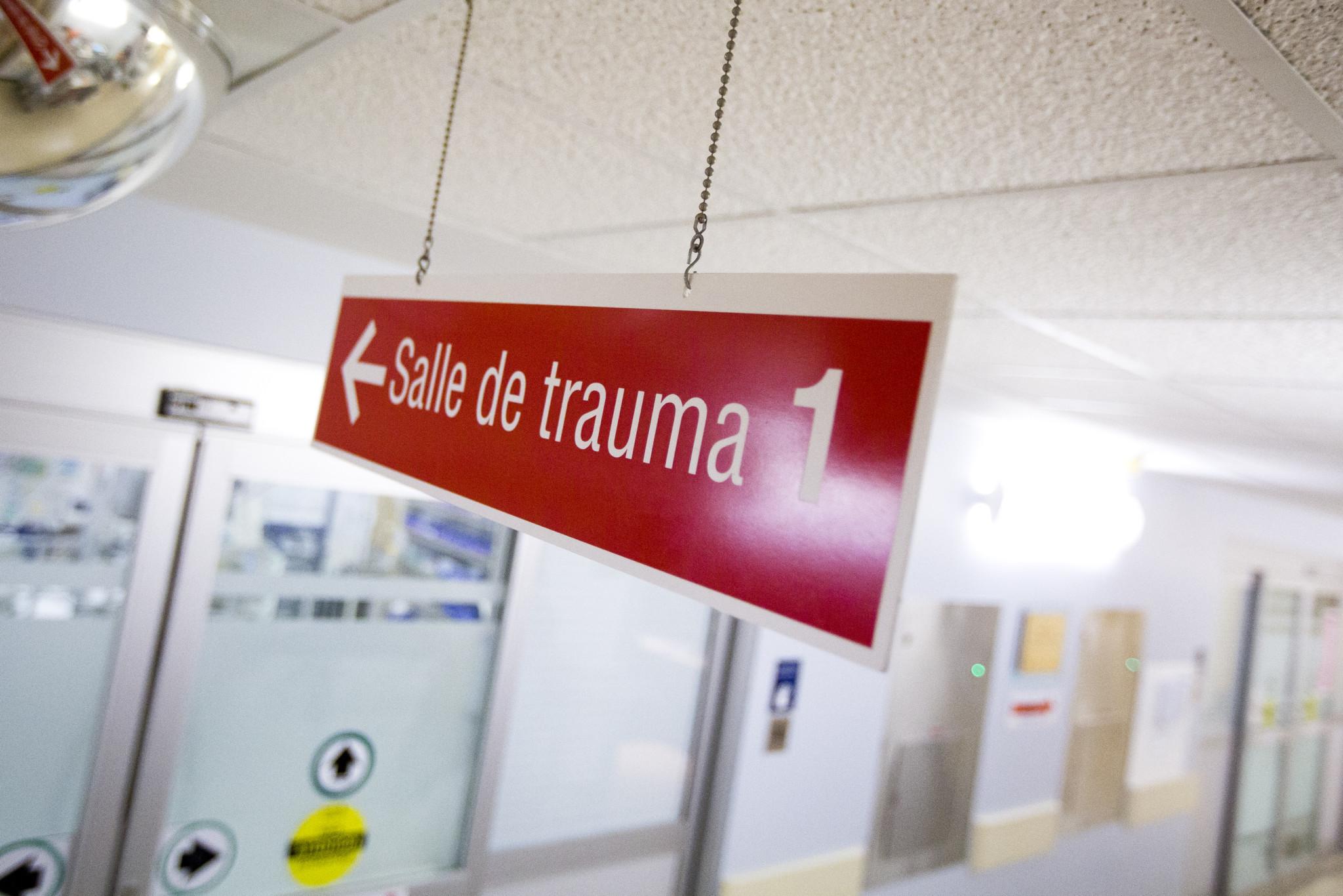 Trauma Sainte Justine