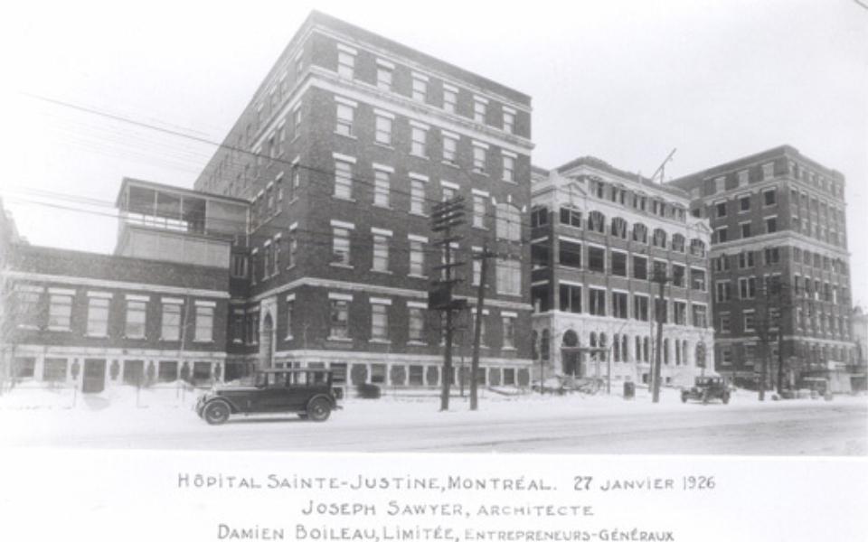 Sainte Justine1914
