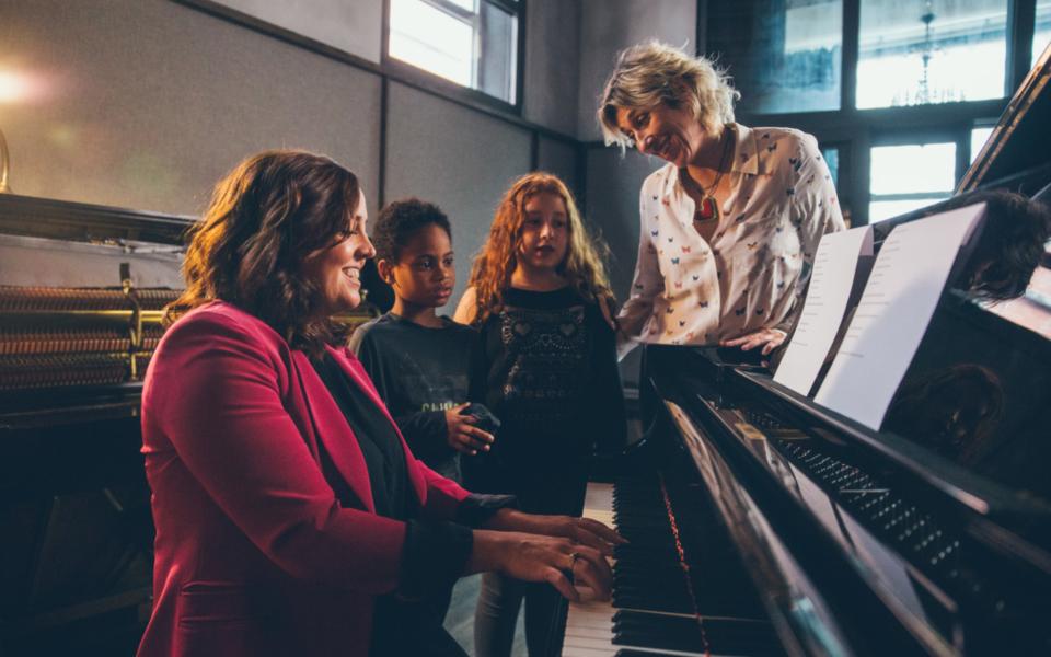 Thierry Arianemoffat Ariane Martha Piano Visage