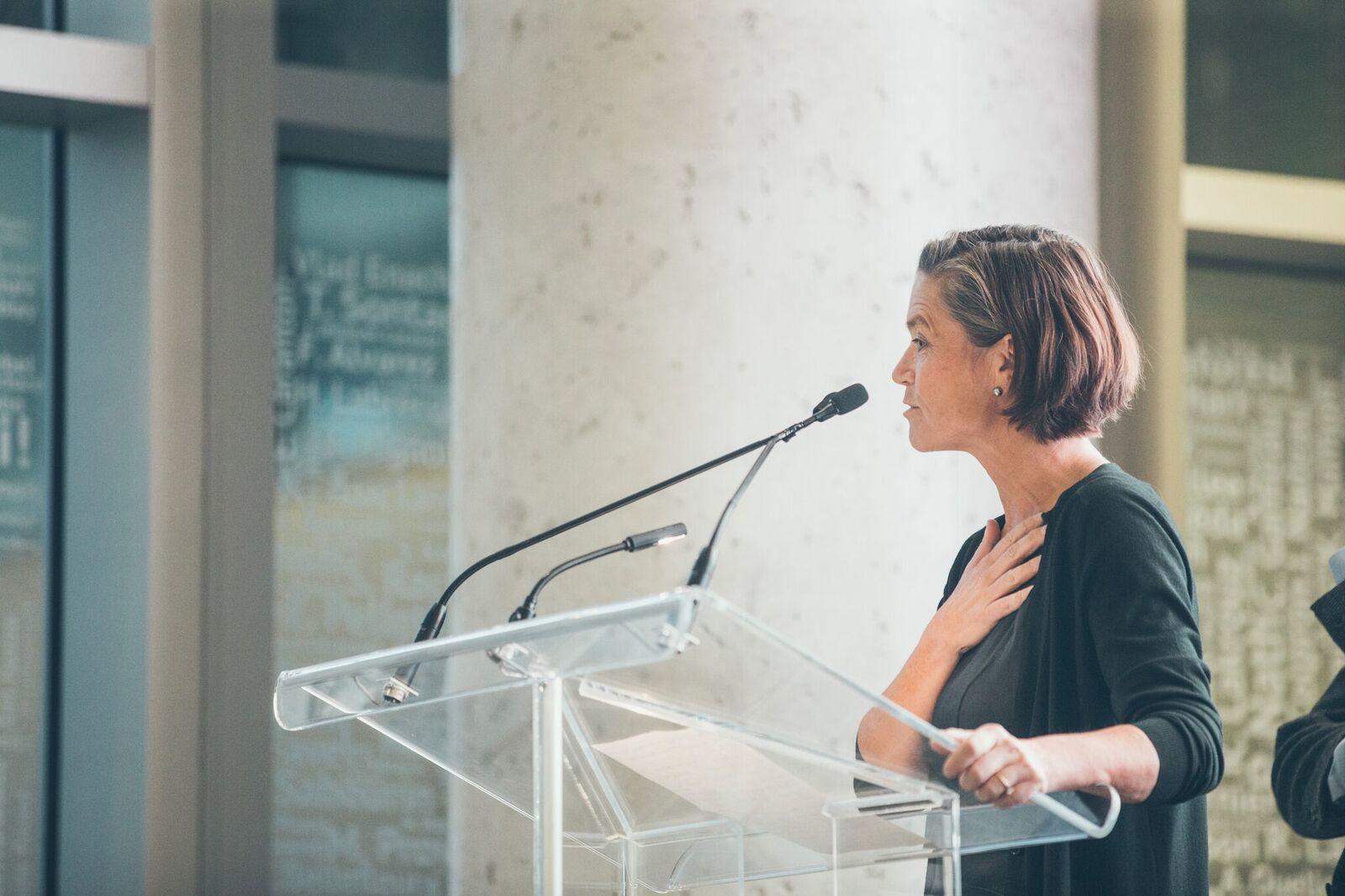 Dr Nancy Poirier Agm 2018 Chu Sainte Justine Foundation