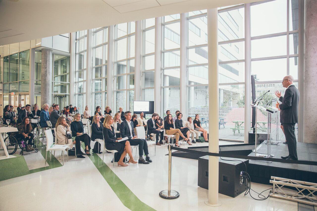 Guests Agm 2018 Chu Sainte Justine Foundation