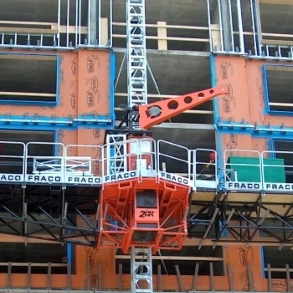 Fraco - Mast Climbing Work Platforms, Construction Hoist