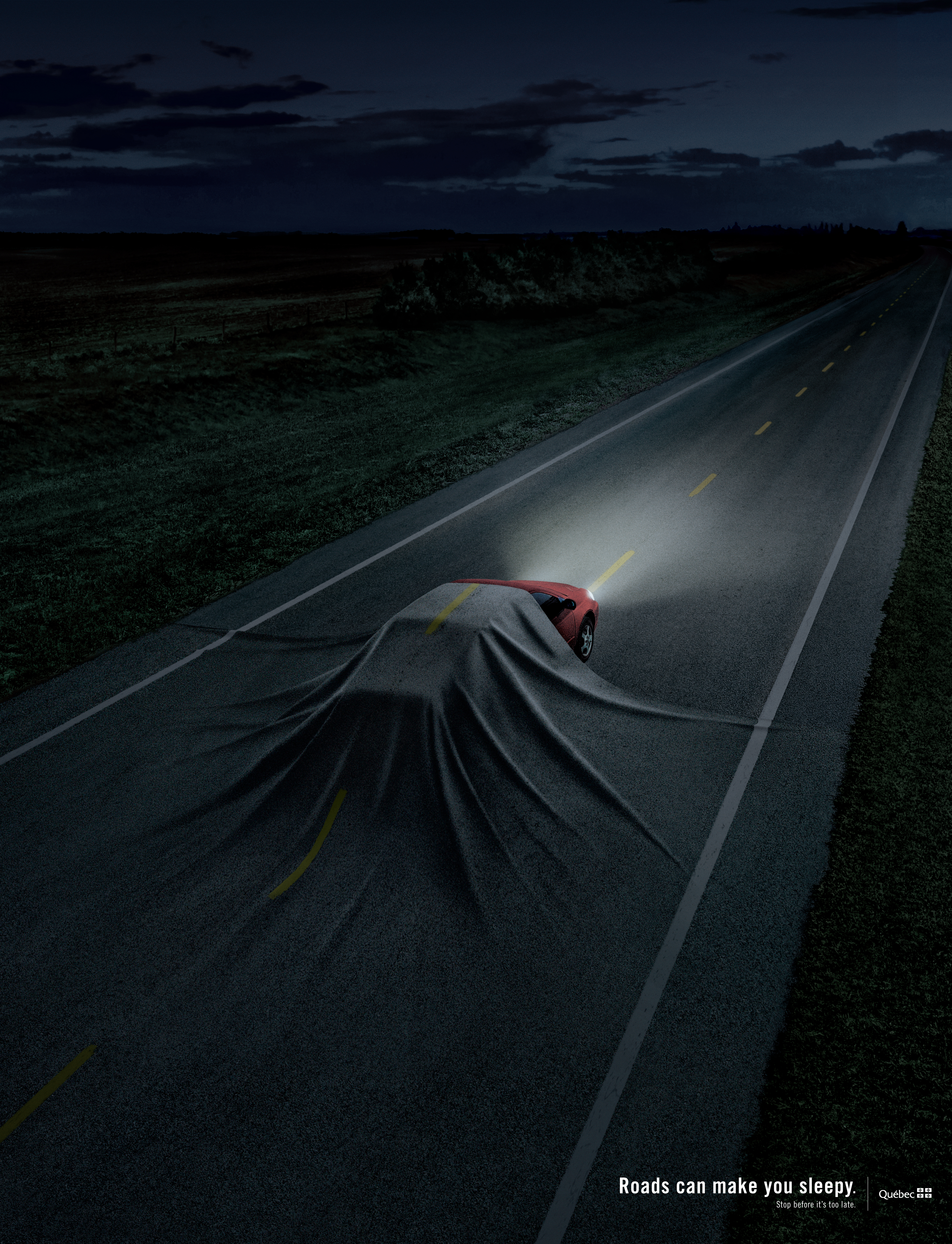 Saaq Fatigue Route Auto En