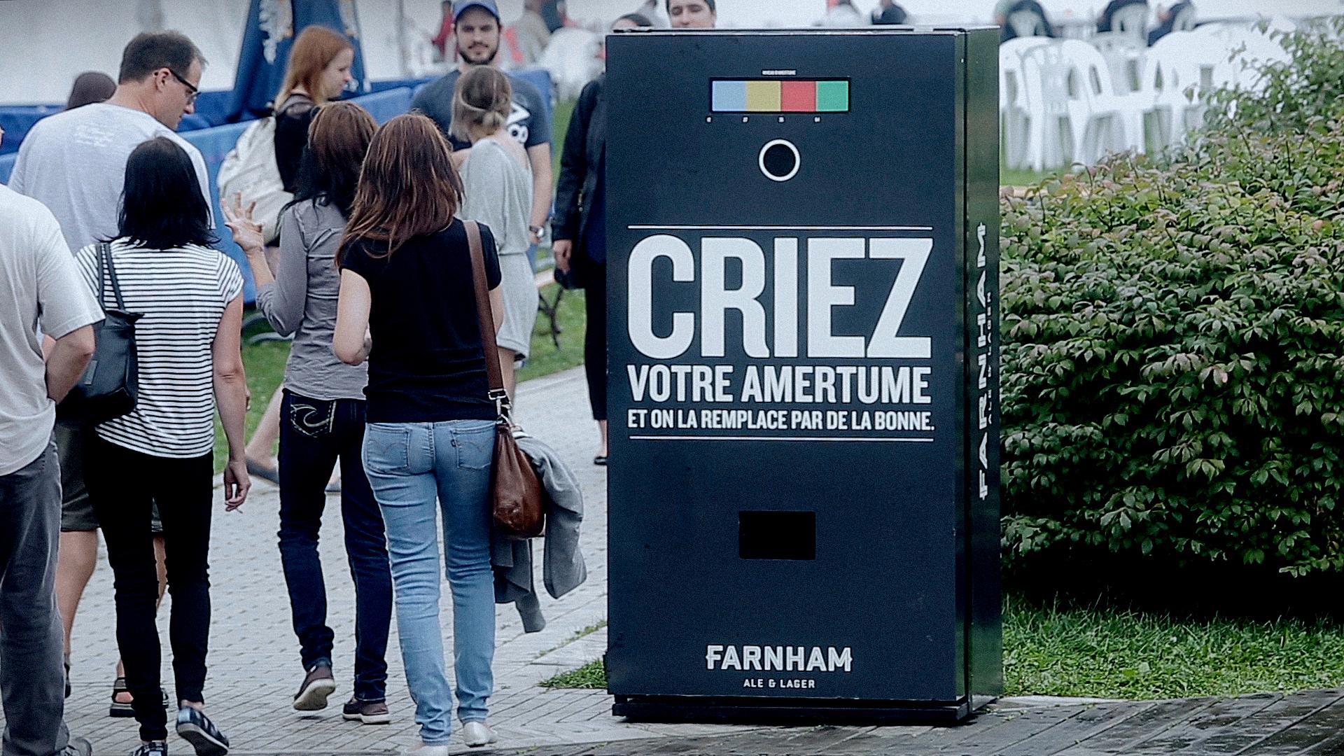 Still Farnham Criez Votre Amertume