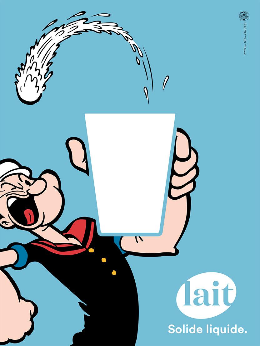 Plq Popeye Vignette