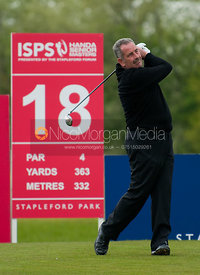 Sam Torrance playing in The Handa Senior Masters Golf, Stapleford Park