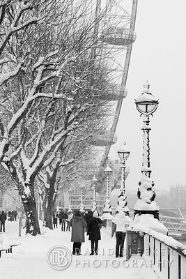 London Eye - Winter