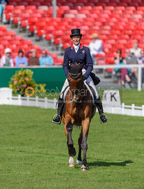 Mary King and IMPERIAL CAVALIER - Dressage - Mitsubishi Motors Badminton Horse Trials 2013.