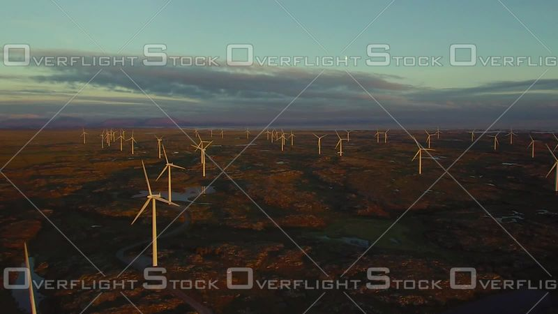 Wind Farm Electrical Generators In Norway