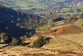 Hathersage from Higger Tor