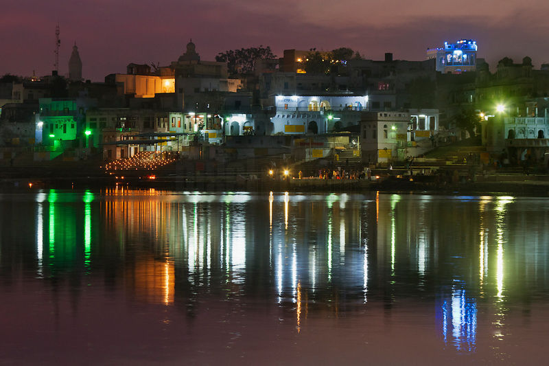 Pushkar Lake at Dusk