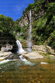 Chorros de Jurina waterfalls, Tarija Department, Bolivia