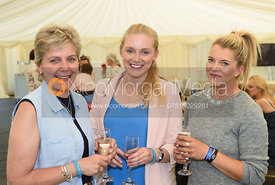 Abigail Boulton, Lucy Boulton, Fairfax & Favor party, Rockingham Horse Trials 2018