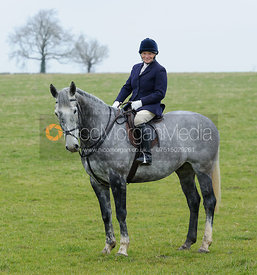 Joint meet of the Quorn and Cottesmore Hunts