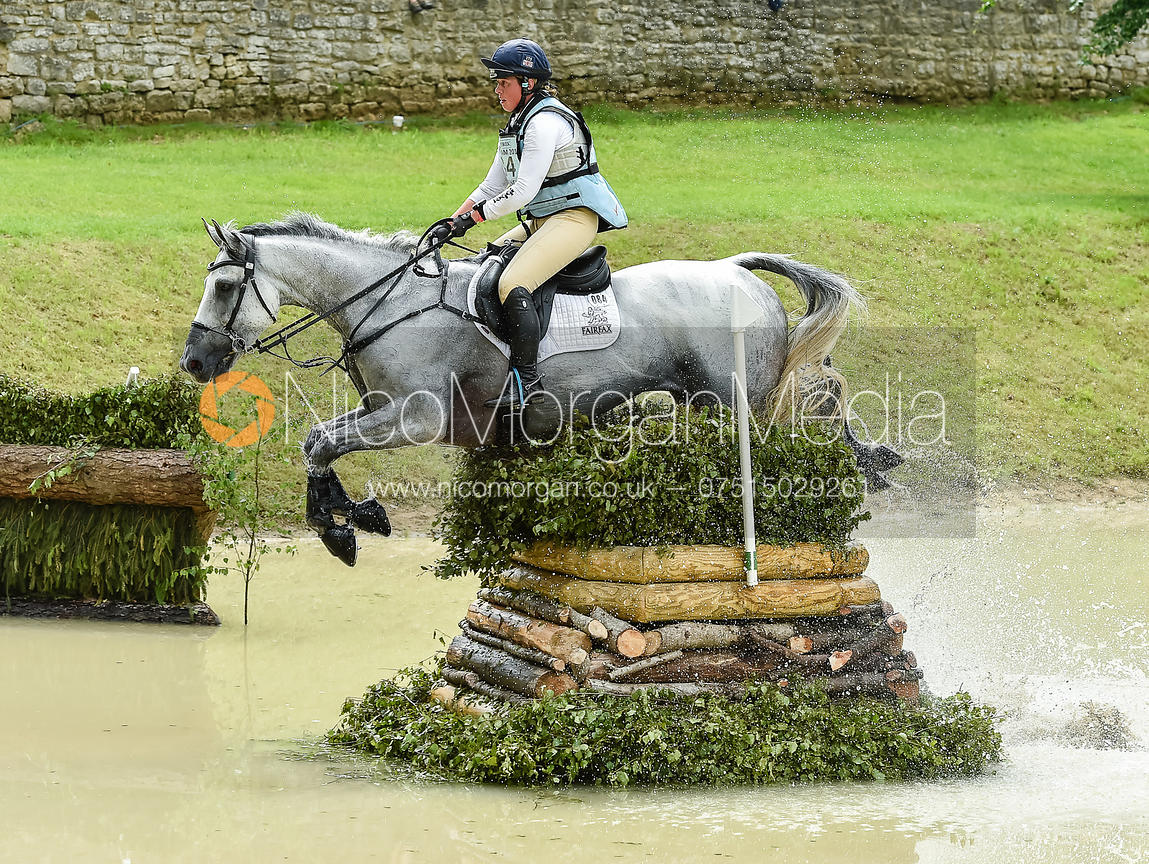 Kitty King and VENDREDI BIATS, Equitrek Bramham Horse Trials 2018