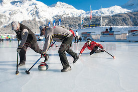 CURLING 46. Coppa Romana 2014 in Silvaplana