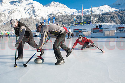 Curling Engadin photos