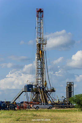 Oil Derrick in Texas