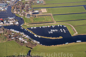 Hoogmade - Luchtfoto haven