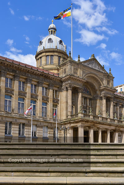 Birmingham City Council House, Victoria Square, Birmingham, England