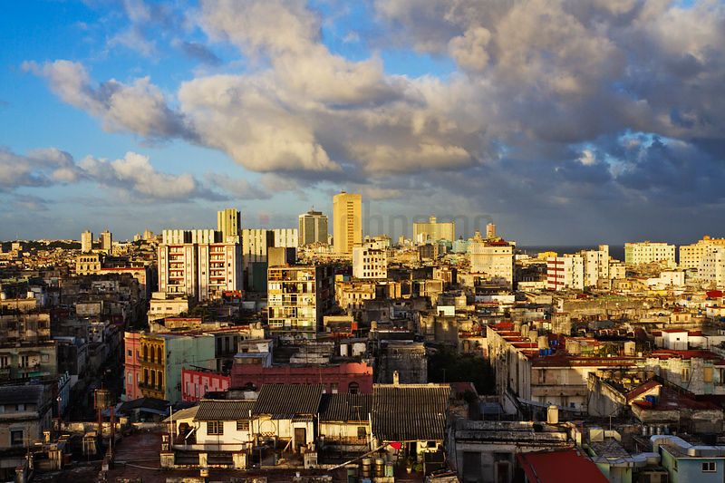 Havana Skyline at Sunrise