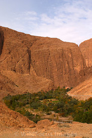 Taking the loop trail around Todra Gorge down to Tizgui,  High Atlas, Morocco, Portrait