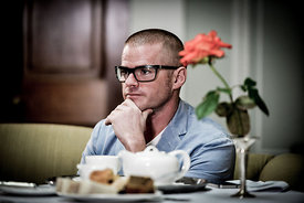 Photographing Heston Blumenthal and Olivia Towers photographs