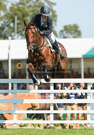 Imogen Murray and IVAR GOODEN, showjumping phase, Land Rover Burghley Horse Trials 2018