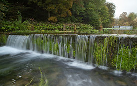 River Lathkill terracing
