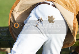 Hound paw print on breeches