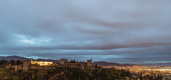 Morning light at the Alhambra, Granada